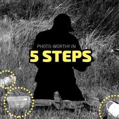 Photo-worthy in 5 Steps