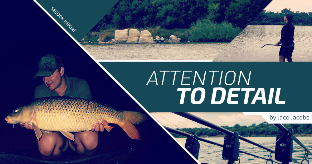 Attention, Carp Fishing, River, Boilies, Jaco Jacobs
