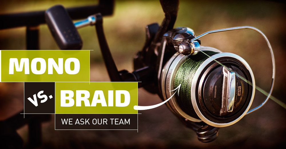 Mono vs braid carpfever for Braided fishing line vs mono